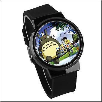 Waterproof Luminous Led Digital Touch Watch - Neighbor Totoro
