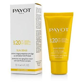 Payot Les Solaires Sun Sensi protetor anti-aging creme facial SPF 20-50ml/1.6 oz