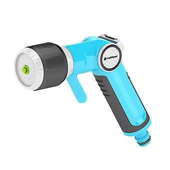 Multifunctional Garden Gun Hand Sprinkler with Non-gradual Water Flow Regulation