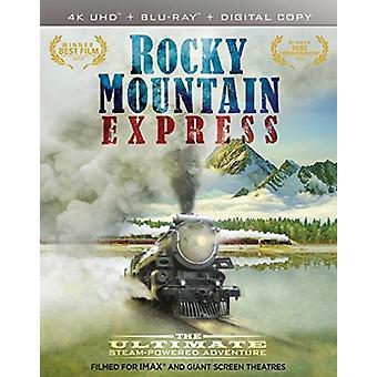 IMAX: Rocky Mountain Express [Blu-ray] USA importere