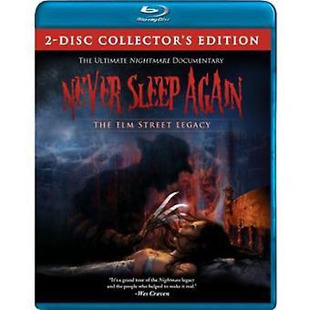 Jamais dormir à nouveau: Importation de Elm Street USA de l'héritage [BLU-RAY]