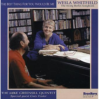 Weslia Whitfield - Best Thing for You Would Be Me [CD] USA import