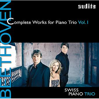 Beethoven / Swiss / Pno Trio - Beethoven / Swiss / Pno Trio: Complete Works for Pno Trio 1 [CD] USA import