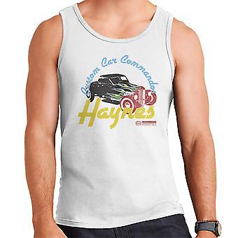 Haynes aangepaste auto Commandos Sleep Hotrod mannen Vest