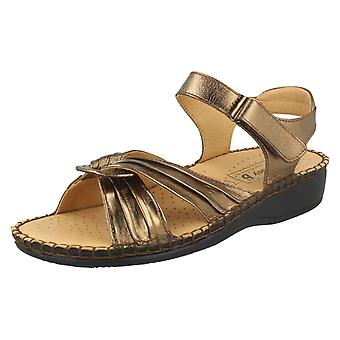 Ladies Easy B Leather Sandals Hush