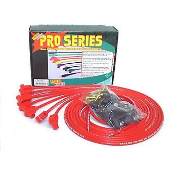 Taylor Cable 70250 8mm Pro Wire Red Spark Plug Wire Set