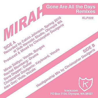 Mirah - Gone Are All the Days [Vinyl] USA import