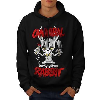 Canibal Men BlackHoodie | Wellcoda