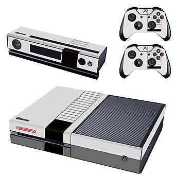 REYTID Console Skin / Sticker + 2 x Controller Decals & Kinect Wrap Compatible with Microsoft Xbox One - Full Set - Nintendo