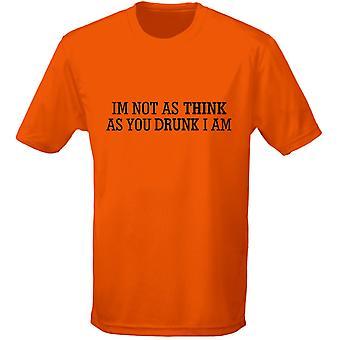 Jag är inte så tror som du full jag är Mens T-Shirt 10 färger (S-3XL) av swagwear