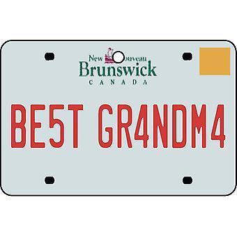 NEW BRUNSWICK - bedste bedstemor licens plade bil luftfriskere