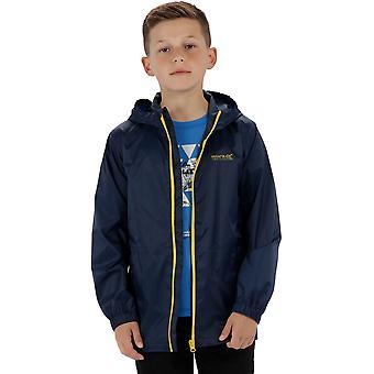 Regaty chłopców & dziewczyny Pack to Packable wodoodporna oddychająca kurtka