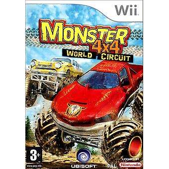 Monster 4X4 World Circuit (Wii) - New