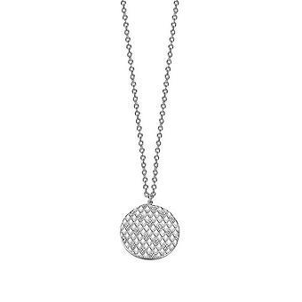 ESPRIT damer kedja rostfritt stål cubic zirconia glamour ESNL03425A800