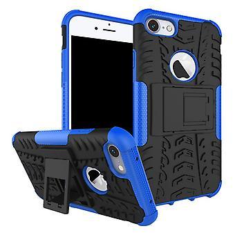 NEX stil hybrid tilfelle 2 stykke utendørs Blau for Apple iPhone 8 og 7 4.7 tommers etuiet dekke beskyttelse