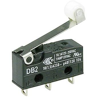 ZF Microswitch DB2C-A1RC 250 V AC 10 A 1 x On/(On) IP67 momentary 1 pc(s)
