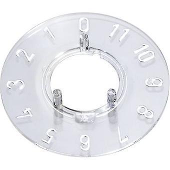 OKW A4413049 Dial 0-11 30 ° lämplig för 13,5 mm rattar 1 st. (s)