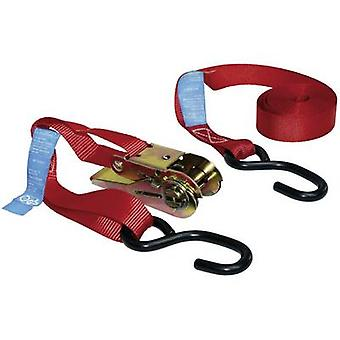 LAS 10317 Double strap Low lashing capacity (single/direct)=250 daN (L x W) 5 m x 25 mm