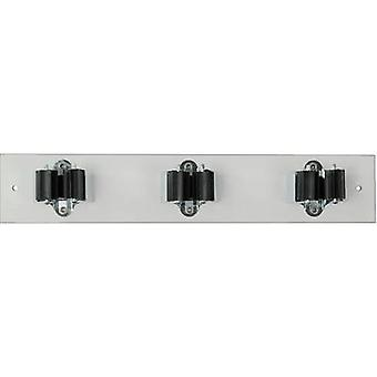 40 147 PRAX device-holder strip 3-35W (L x W) 330 mm x 60 mm