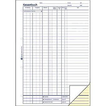 Avery-Zweckform Cashbook 1756 A4 White No. of sheets: 40 Carbonless copy paper: Yes