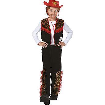 Cowboy Bill Kinder Kostüm Junge Wilder Westen Karneval