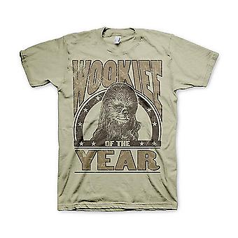 Star Wars T-Shirt Wookiee Of The Year