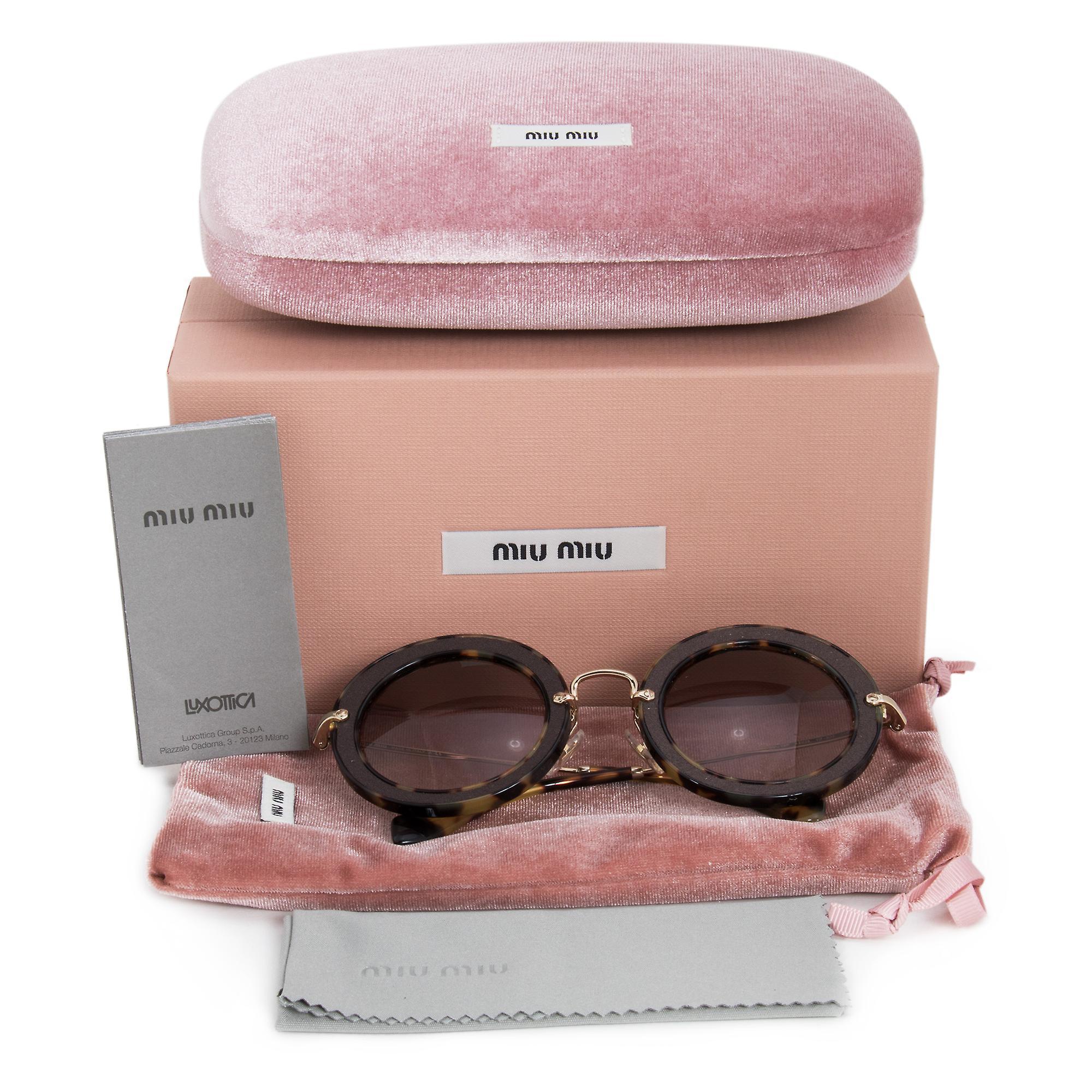 Miu Miu Round Sunglasses SMU08RS VIF3D0 49