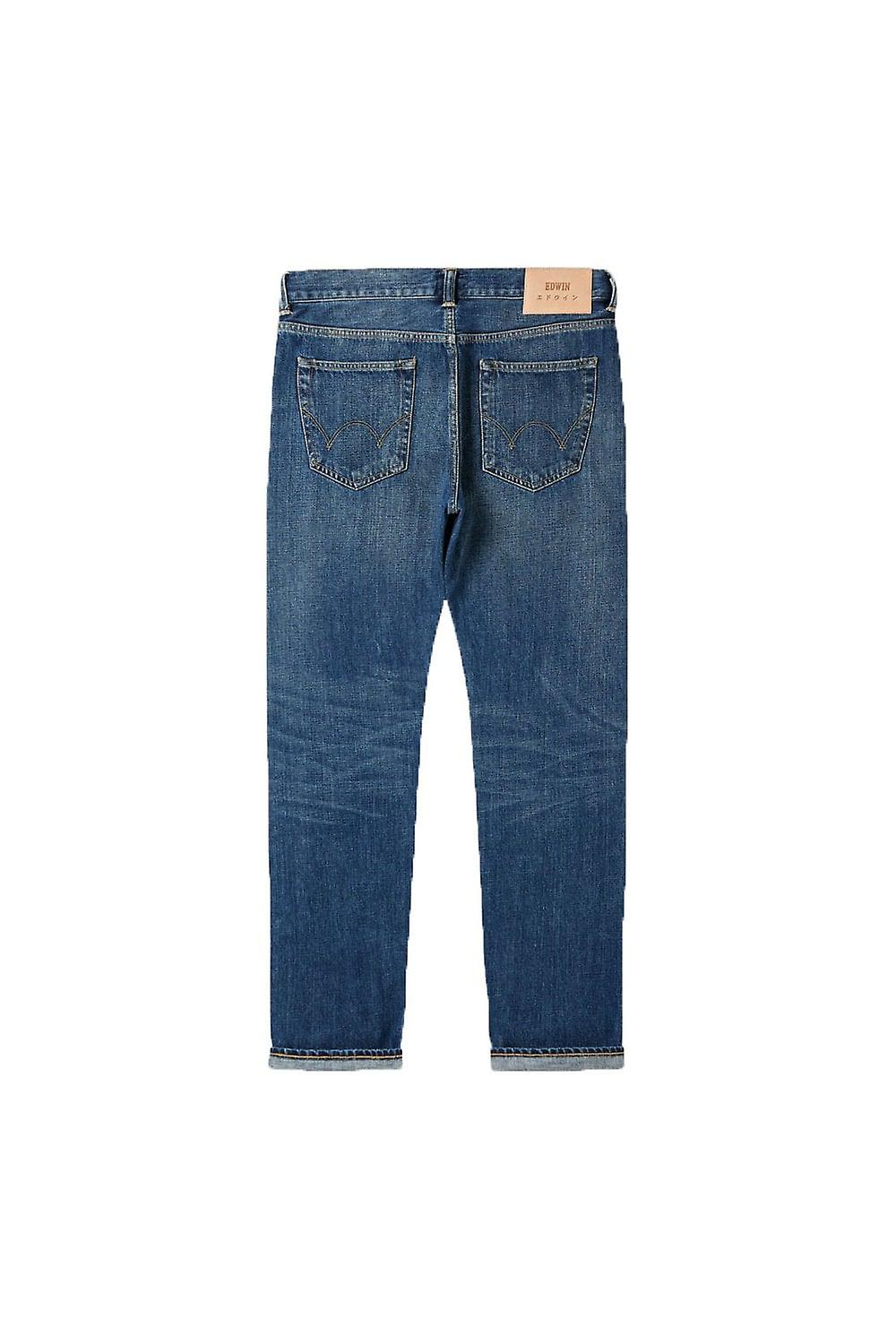 Edwin ED-55 Regular Tapered Red Listed Selvage Jeans (Satomi Wash)
