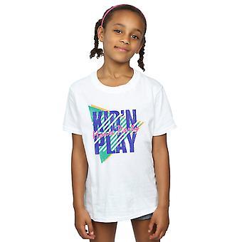 Детские N играть девочки дом партии полосами футболку