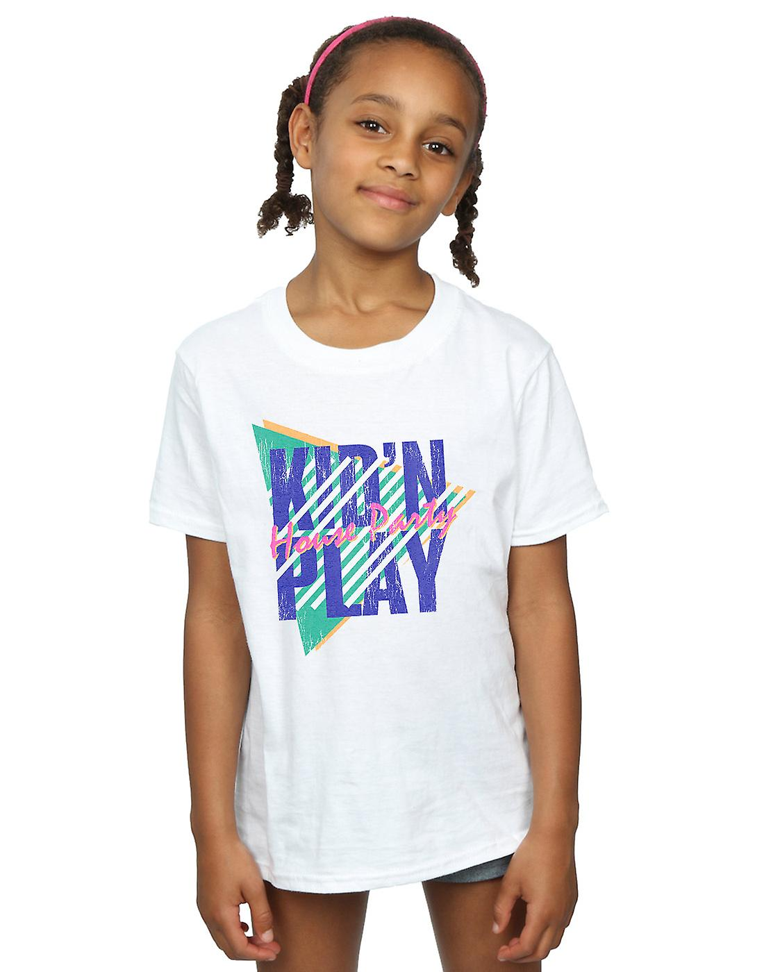 Kid N Play Girls House Party Stripes T-Shirt