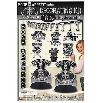 Zestaw kości Appetit dekorowanie (10pc)