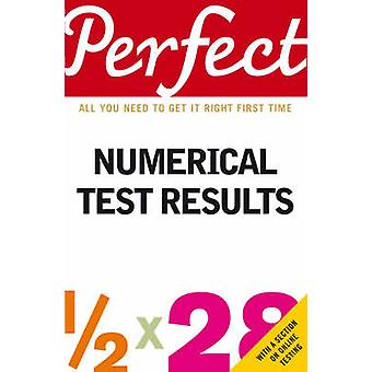 Perfect Numerical Test Results by Joanna Moutafi - Ian Newcombe - 978