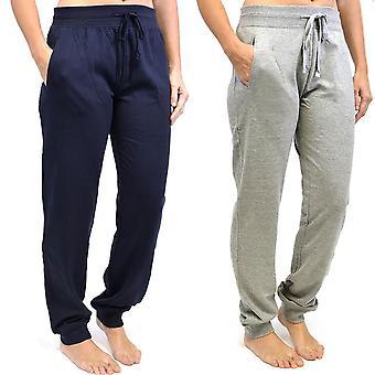 2Pk κυρίες Tom Franks αθλητικό γυμναστήριο τζόκινγκ παντελόνι μόδα LRG-Ναυτικό-Γκρι