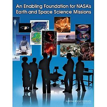 Włączanie podstawę przestrzeni i nauk o ziemi misji NASA