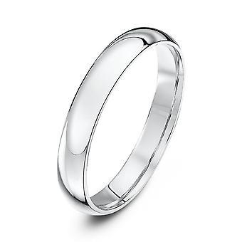 Star Wedding Rings Palladium 950 Light Court 3mm Wedding Ring