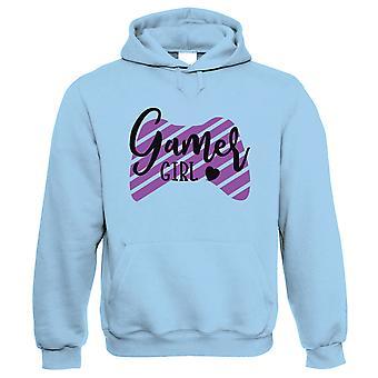 Gamer Girl Heart, Hoodie - Cadeau