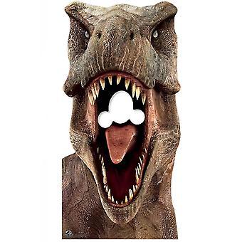 Tyrannosaurus Rex Officiel Jurassic World Stand in Lifesize Cardboard Cutout / Standee
