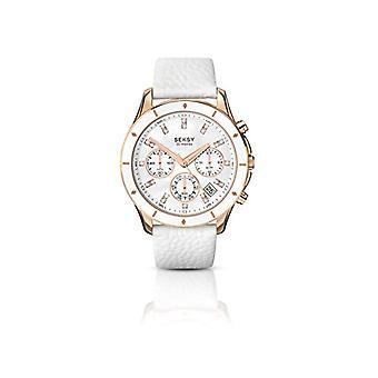 Seksy wrist watch, analog, female, Skin, white (1)
