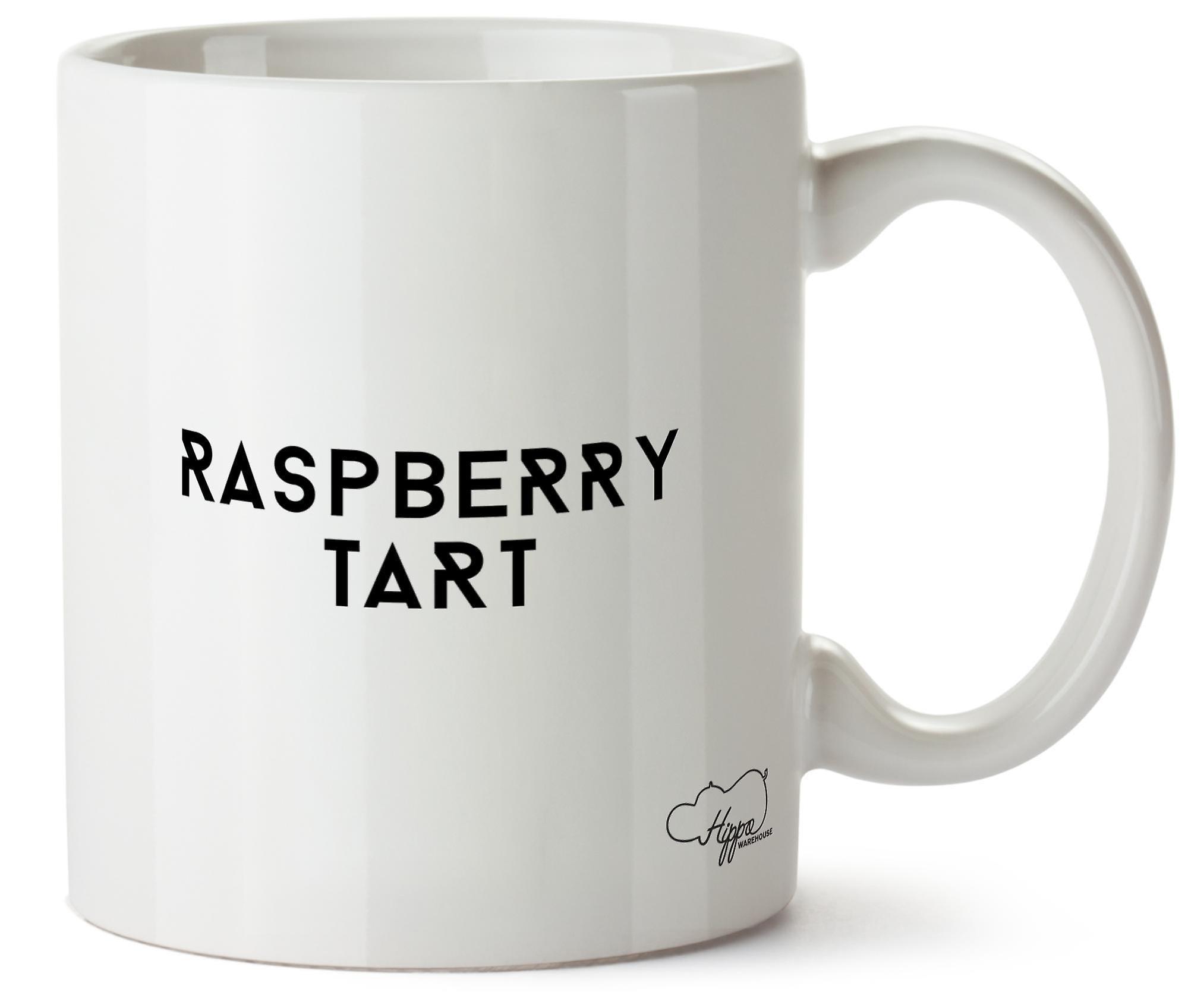 Hippowarehouse Raspberry Tart Printed Mug Cup Ceramic 10oz