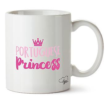 Hippowarehouse Portuguese Princess Printed Mug Cup Ceramic 10oz
