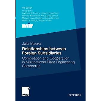 Relationer mellan utländska dotterbolag konkurrens och samarbete i multinationella Plant Engineering företag av Maurer & Julia