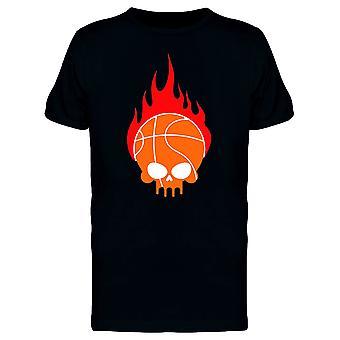 كوم الجمجمة مع رئيس الكرة كرة السلة للرجال-الصورة عن طريق Shutterstock