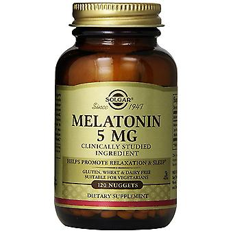 Solgar Melatonin 5 mg Nuggets 120 Ct