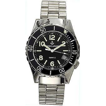 Zeno-watch mens watch esercito subacqueo al quarzo 485Q-a1M