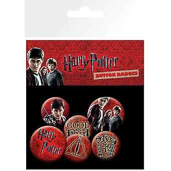 Harry Potter ikon Badge Pack