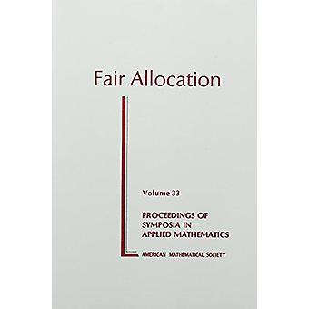 Fair Allocation - 9780821800942 Book