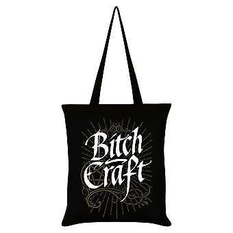 Grindstore Bitch Craft Black Tote Bag