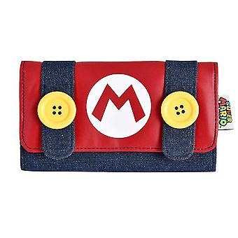 Super Mario Bros. Mario All-round Zipped Girls Purse - Red (MW214015NTN)