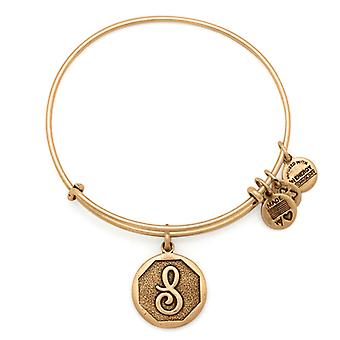 Alex and Ani Initial S Gold Bangle A13EB14SG