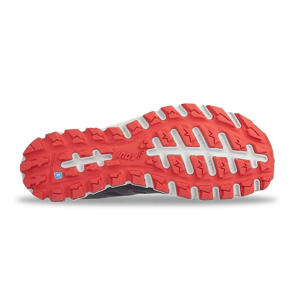 Inov8 Terraultra 260 Mens Wider Fitting & Zero Drop Trail Running Shoes Grey/red